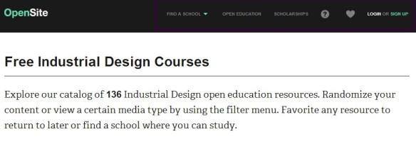 Free Industrial Design Courses