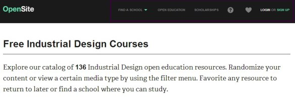 Free Industrial Design Courses
