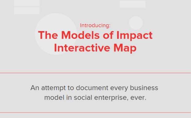 An attempt to document every business  model in social enterprise, ever.