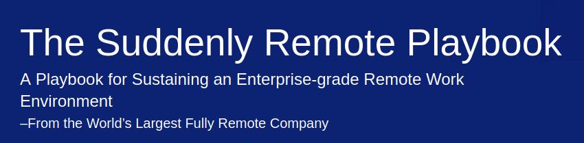 Remote Playbook